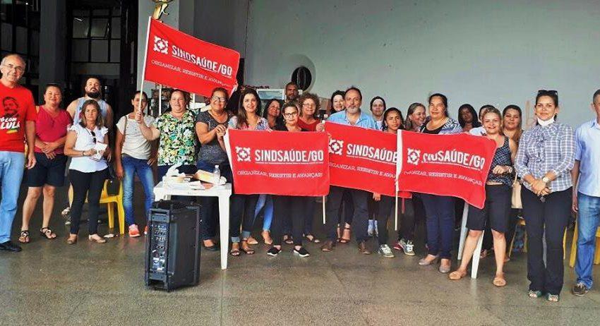 Por direitos, servidores de Anápolis prometem paralisação dia 26