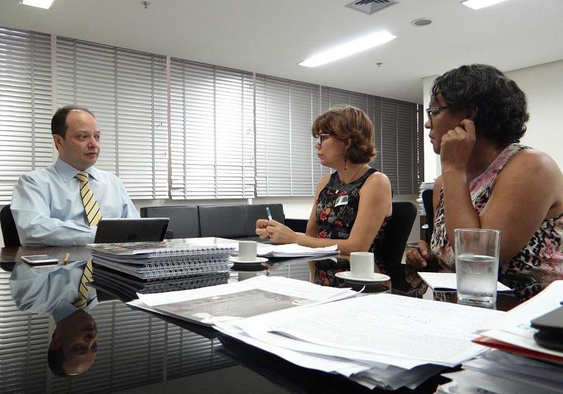 Sindsaúde se reúne com Joaquim Mesquita para solicitar agilidade na aplicação do novo Plano