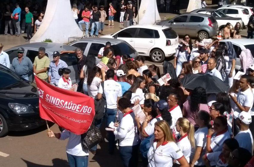 Servidores municipais da saúde de Anápolis marcam protesto para dia 17