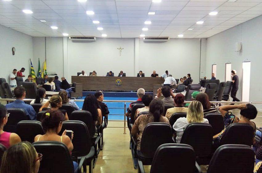 Sindsaúde participa de audiência pública para discutir jornada de trabalho de servidores de Aparecida de Goiânia