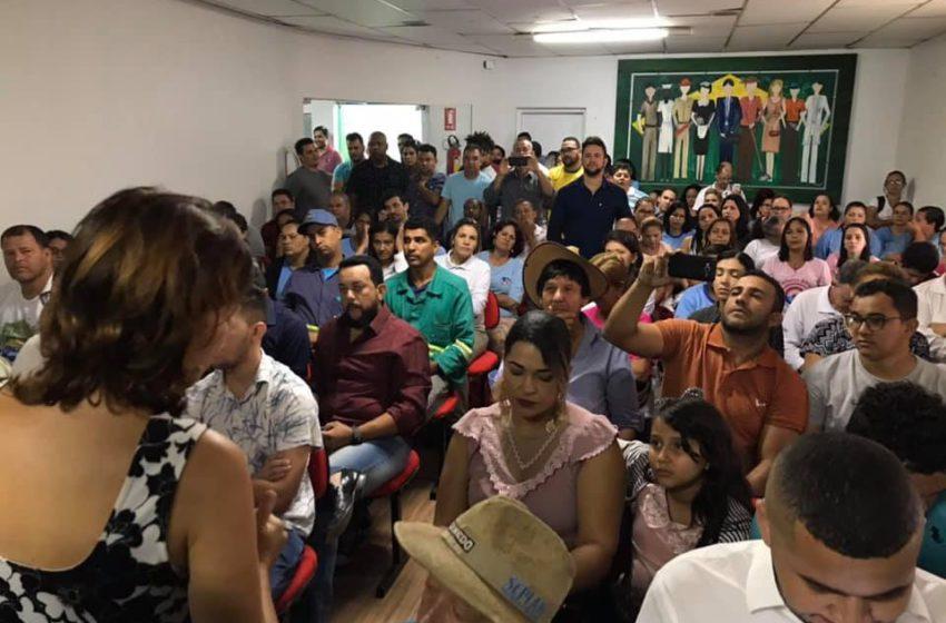Prefeito de Senador Canedo não envia projeto à Câmara e trabalhadores reagem