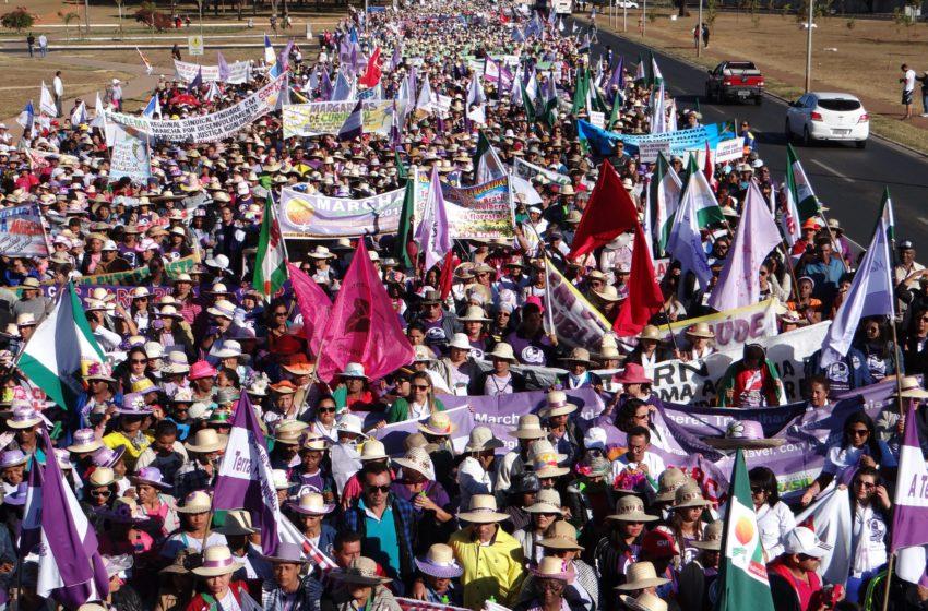 Marcha das Margaridas promete reunir milhares de mulheres em Brasília