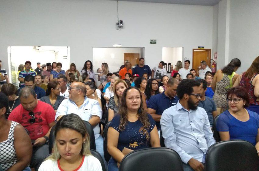 VITÓRIA: titulação para servidores de Anápolis é aprovada no Legislativo
