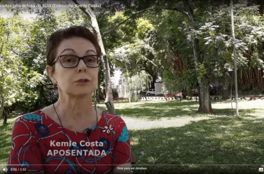 Servidora aposentada fala sobre sua paixão pelo SUS