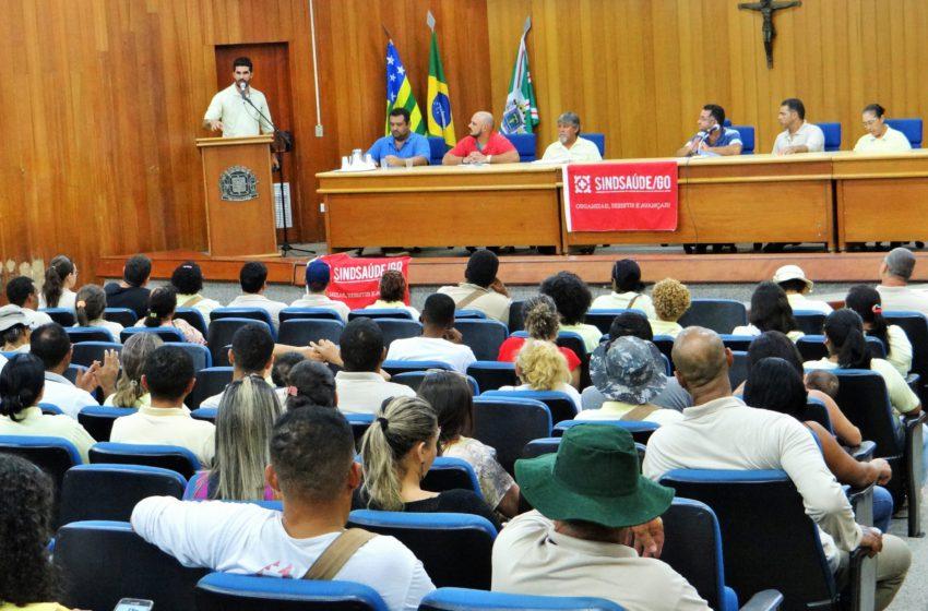 Criada comissão para acompanhar inclusão dos agentes no plano de carreira da SMS de Goiânia