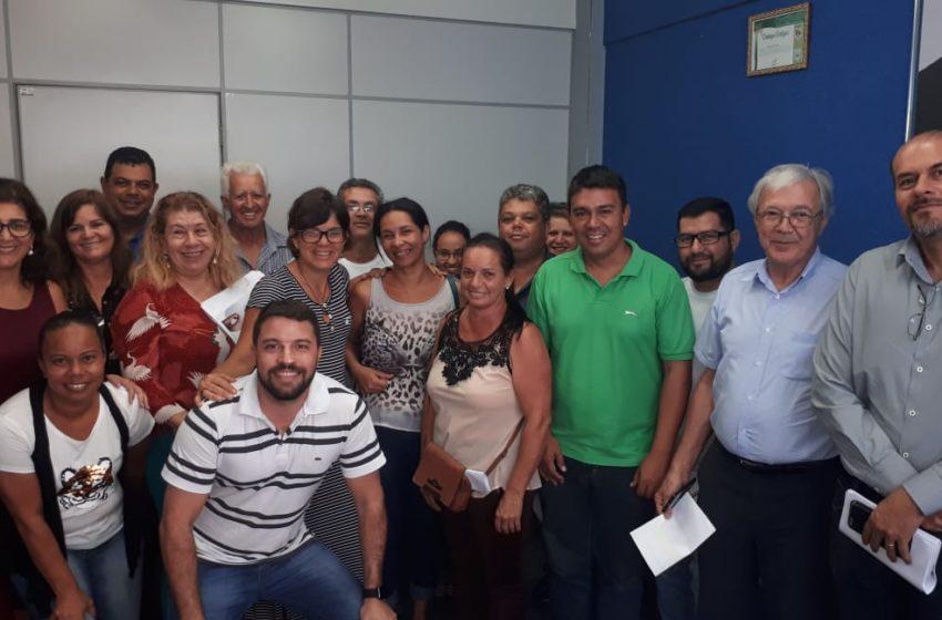 Aragoiânia: Sindsaúde reivindica atualização da tabela do plano de carreira