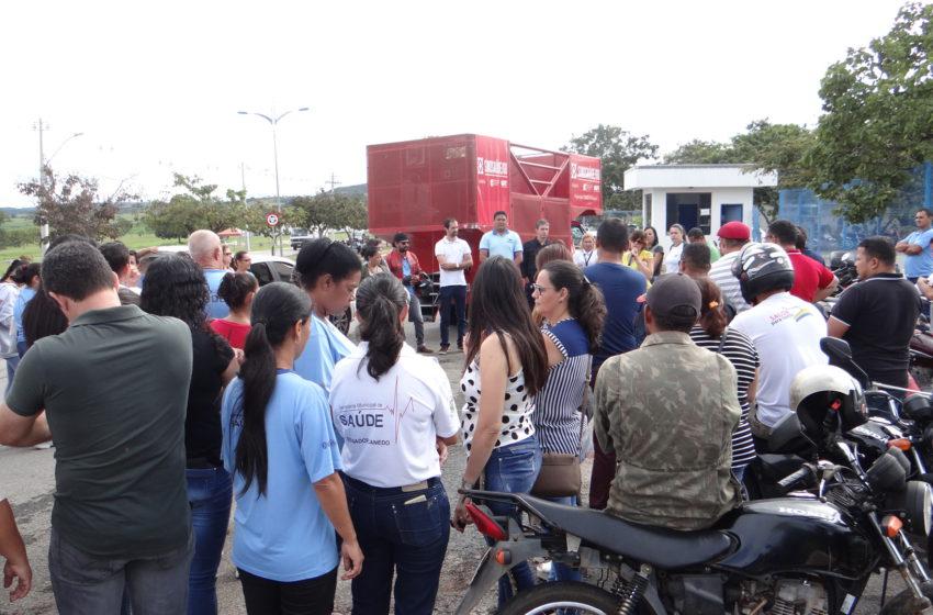 Senador Canedo: Assembleia com indicativo de greve está agendada para o dia 3 de abril