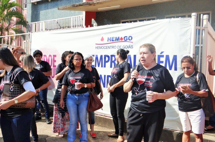 Entidades celebram o Dia da Mulher com doação de sangue