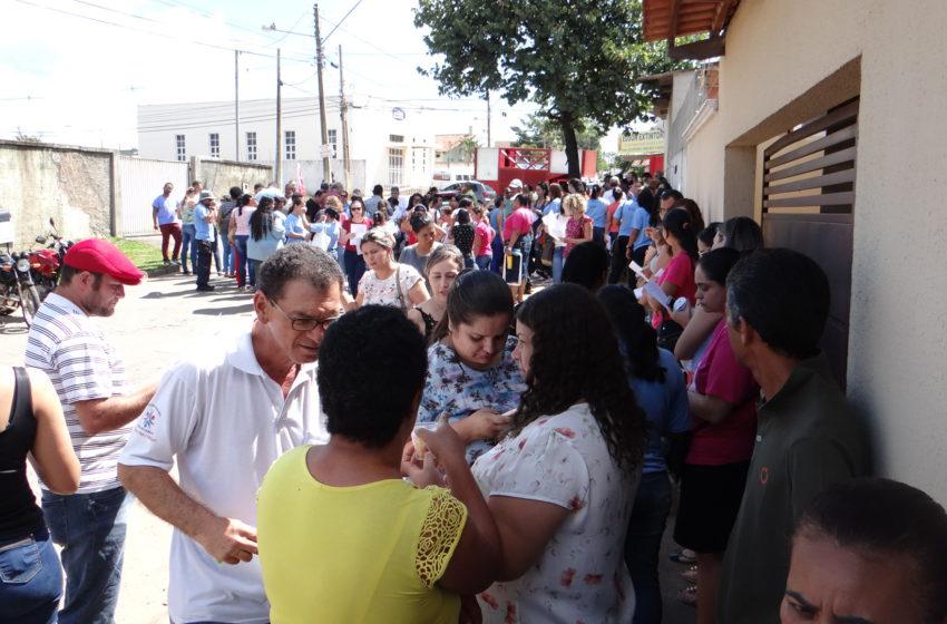 Servidores prometem realizar manifestações toda semana em Senador Canedo