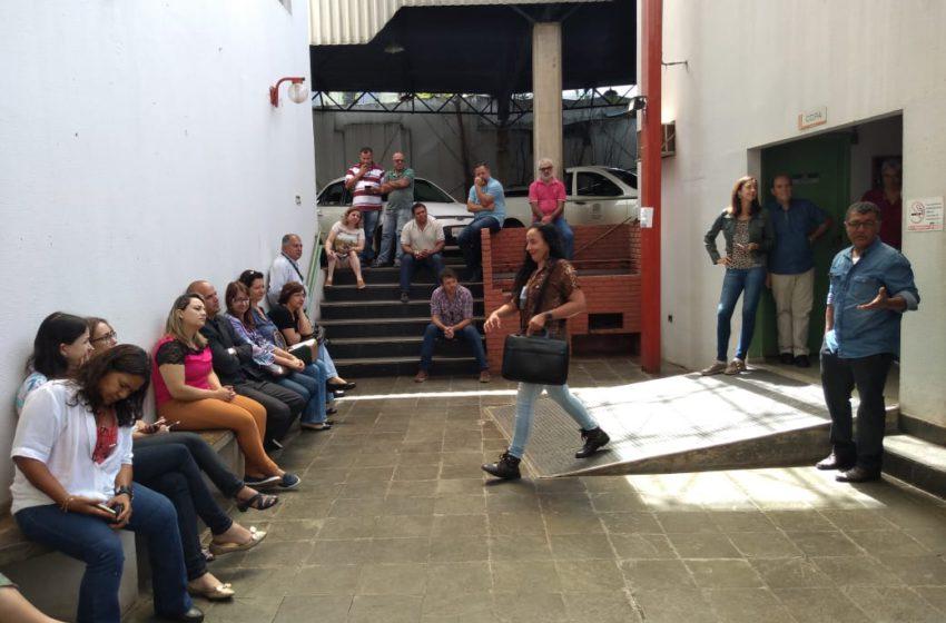 Sindicato reúne com servidores da Vigilância Sanitária de Goiânia