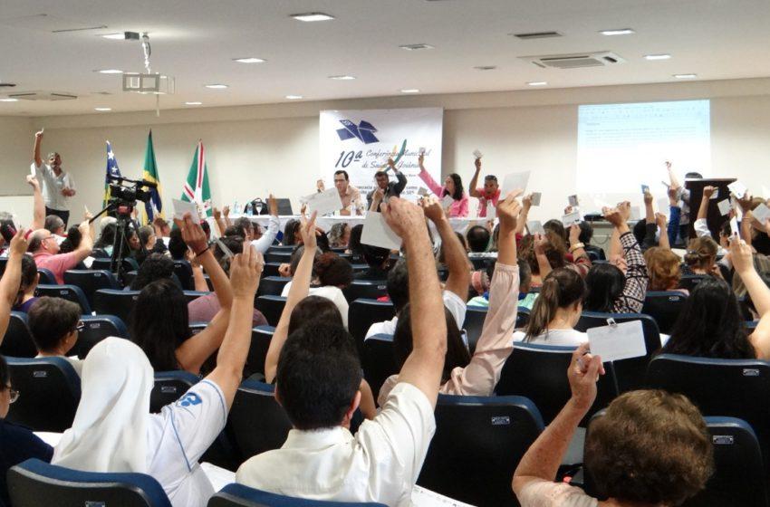 10ª Conferência: Sindsaúde debate a promoção de políticas públicas de saúde em Goiânia