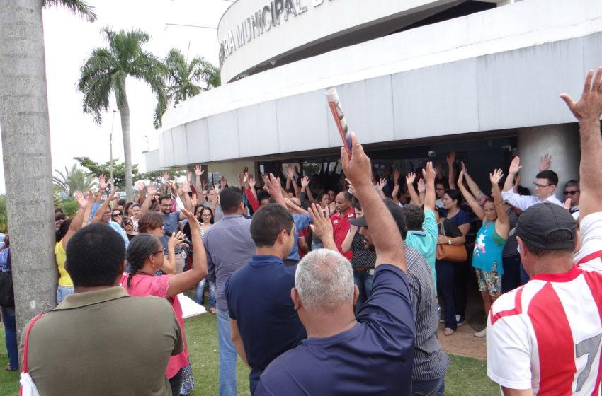 Senador Canedo: servidores voltam a se mobilizar nesta a segunda-feira (8)