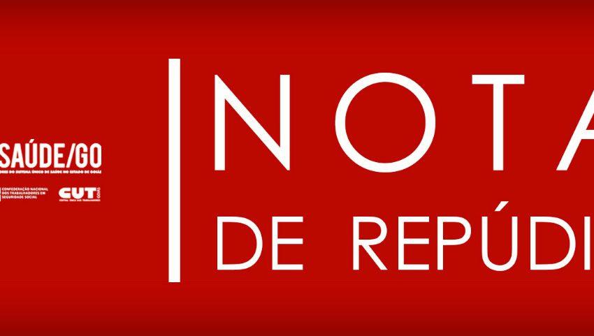 NOTA DE REPÚDIO AO PROJETO DE LEI Nº 162