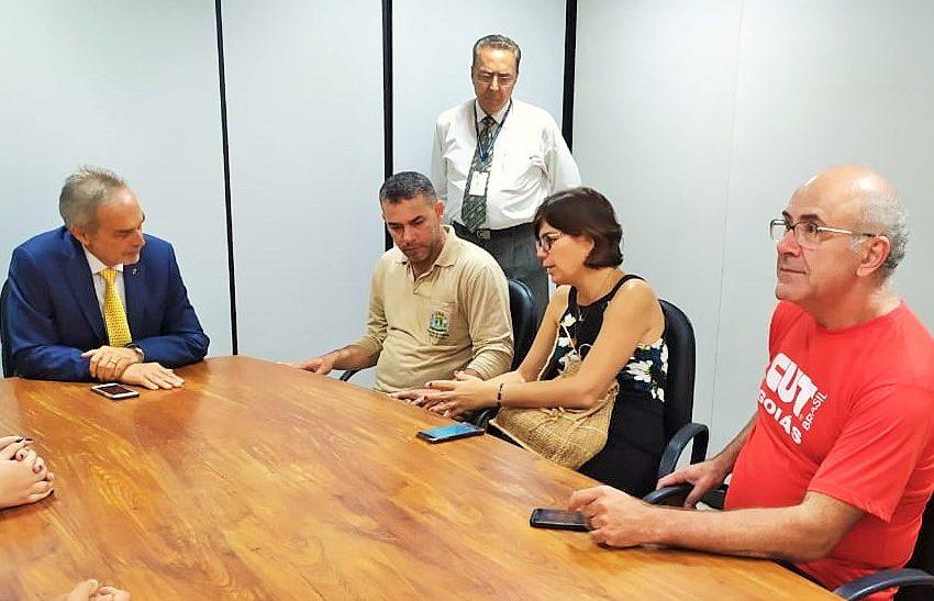 Goiânia: Sindsaúde se reúne com chefe de Governo e cobra reajuste salarial para ACS e ACE