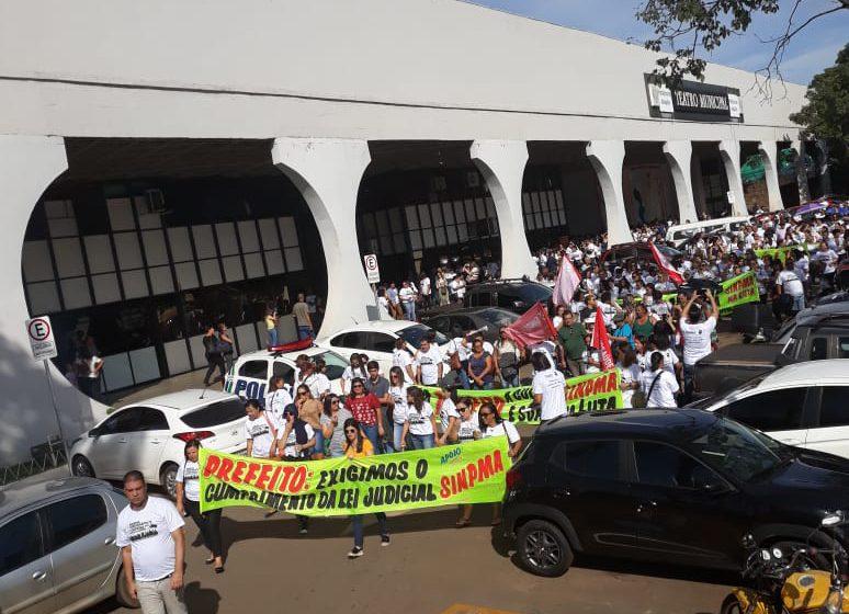 Anápolis: Servidores municipais promovem dia de luta e paralisação