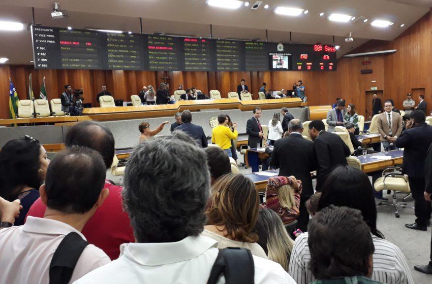 Câmara Municipal aprova data-base dos servidores municipais de Goiânia