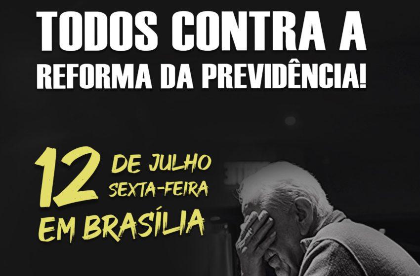 SINDSAÚDE CONVOCA SERVIDORES PARA PROTESTO EM BRASÍLIA