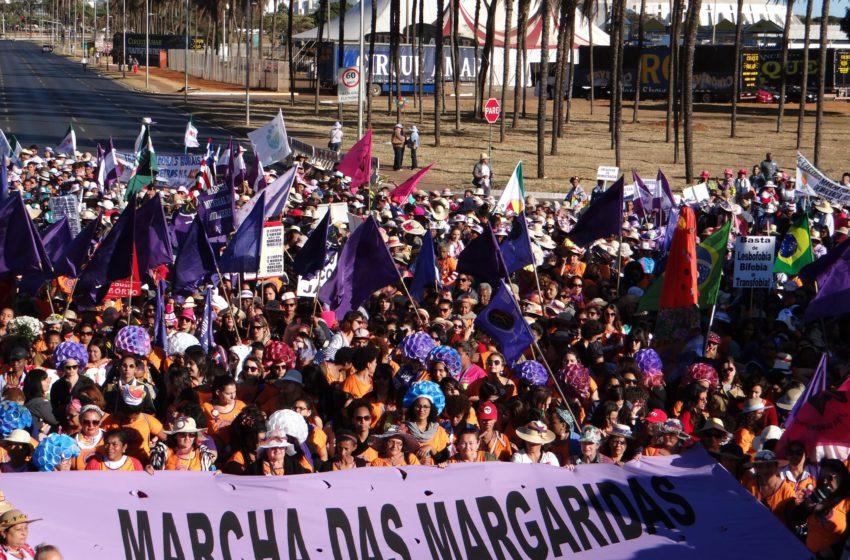 """Milhares de """"Margaridas"""" ocuparão Brasília por soberania popular, democracia, justiça, igualdade e fim da violência"""