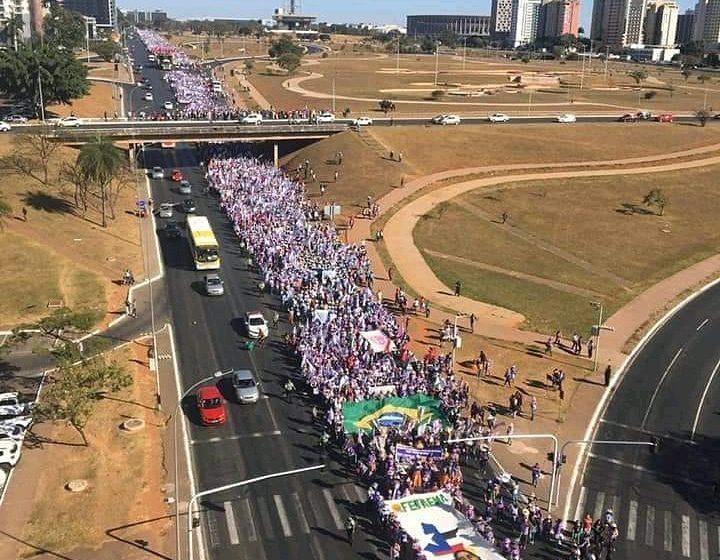 SINDSAÚDE Presente na Marcha das Margaridas
