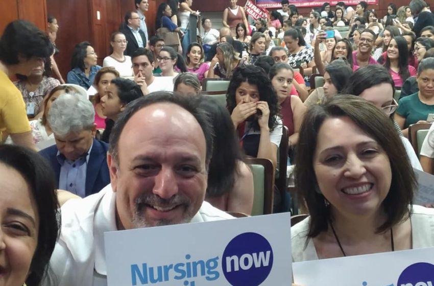 Sindsaúde participa de audiência em defesa da enfermagem