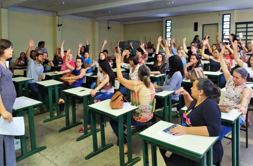 Sindsaúde discute condições de trabalho para ACS e ACE em Anápolis
