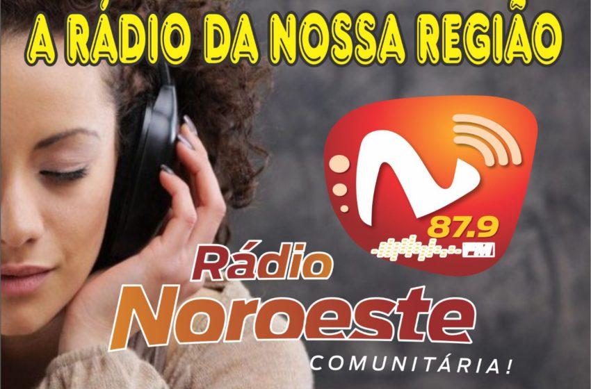 O Sindsaúde na estréia da Rádio Noroeste
