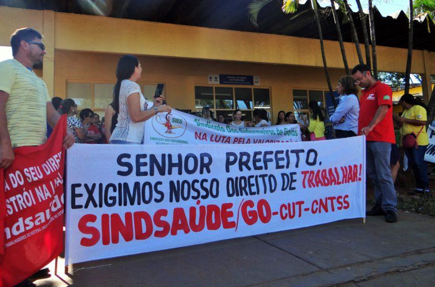 Administrativos da saúde de Aparecida de Goiânia conquistam 30h