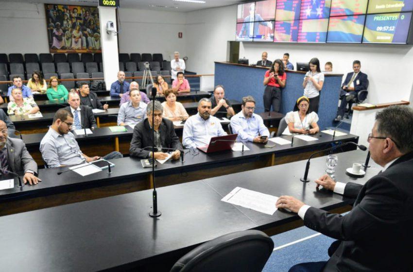 Sindsaúde e entidades representativas contra o aumento da alíquota no vencimento dos servidores do estado de Goiás