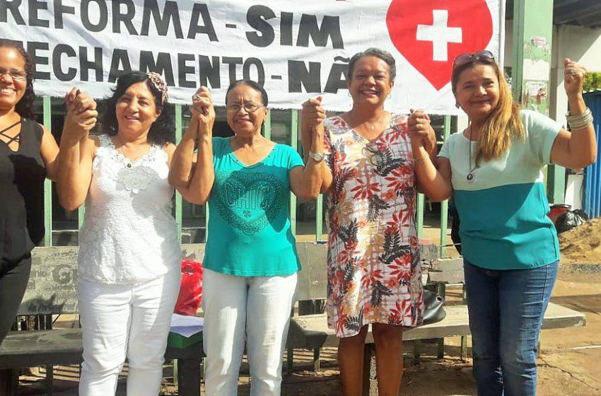 Trabalhadores do Cais Cândida de Morais criam conselho para discutir reforma da unidade