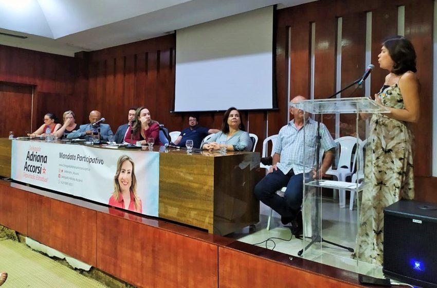 Em audiência pública, Sindsaúde diz não à PEC da previdência estadual