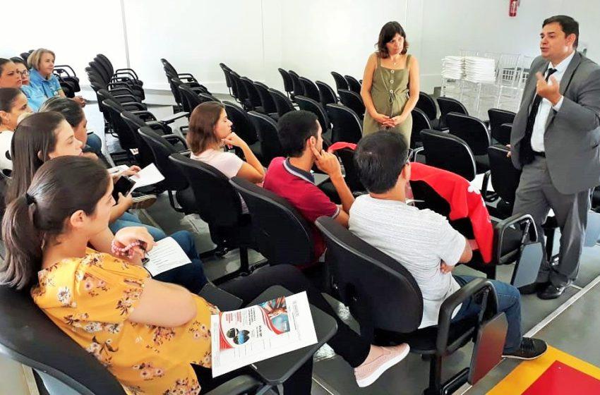 Em Santa Helena, Sindsaúde dialoga com servidores e promove assistência jurídica