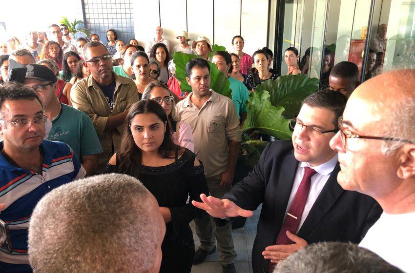 CARREIRA: ACS e ACE pressionam e secretário promete reunião com Iris