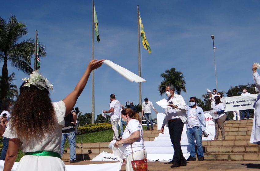 COVID-19: entidades da saúde alertam o prefeito Iris Rezende sobre consequências da flexibilização do isolamento