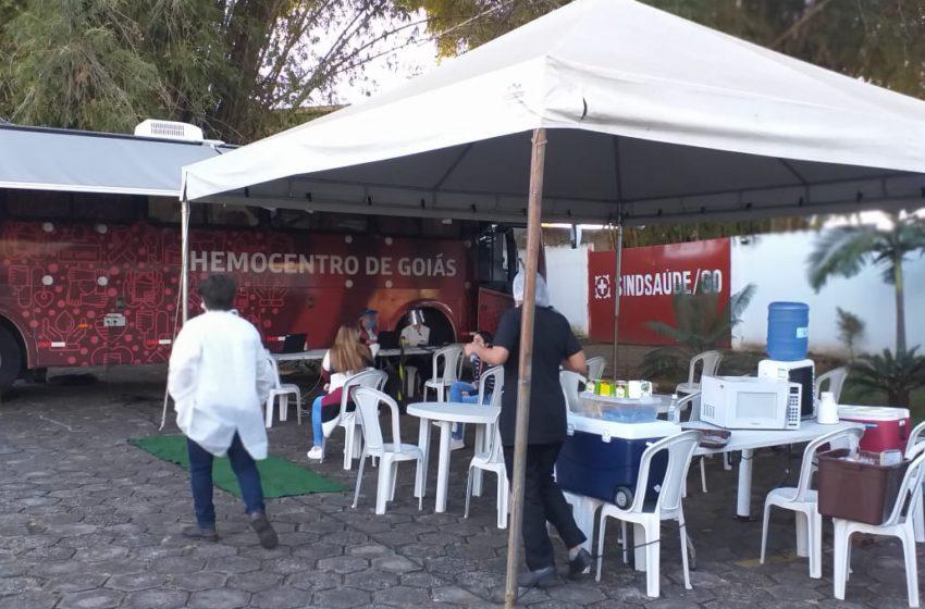 Sindsaúde-GO, convida moradores da região Sul e demais para doar sangue