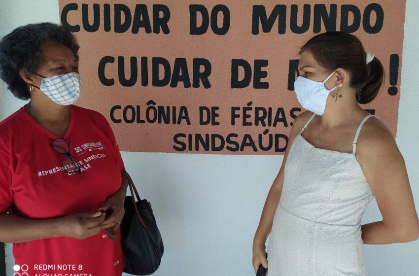 O Sindsaúde-GO acompanha os trabalhadores (as) da saúde em Aparecida de Goiânia