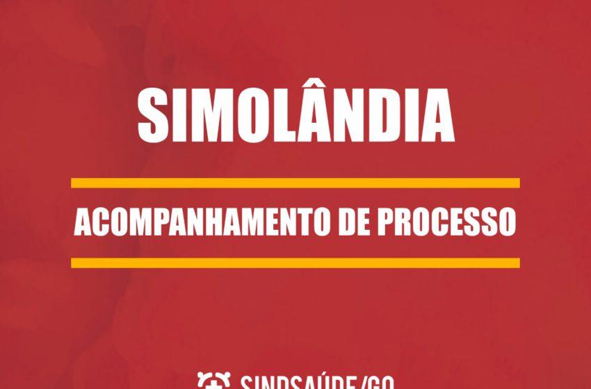 Acompanhamento de processo dos trabalhadores da saúde de Simolândia