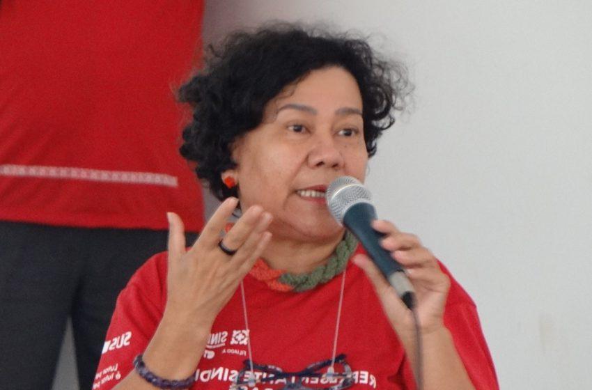 Diretora do Sindsaúde é reeleita para coordenação política do Dieese-GO