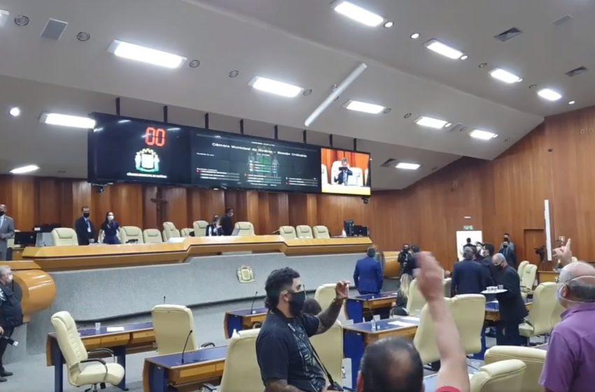 GOIÂNIA: alíquota de 14% passa em primeira votação na Câmara