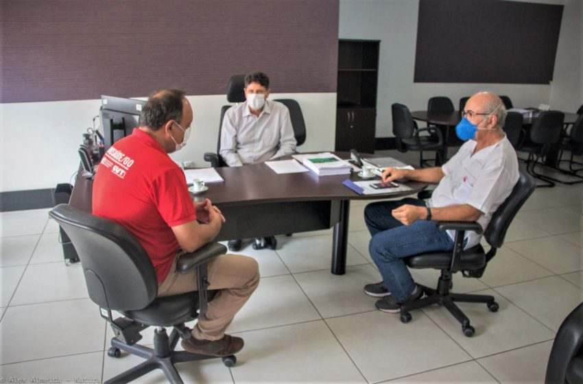 Em reunião com o presidente do GoianiaPrev, Sindsaúde solicita novo cálculo atuarial