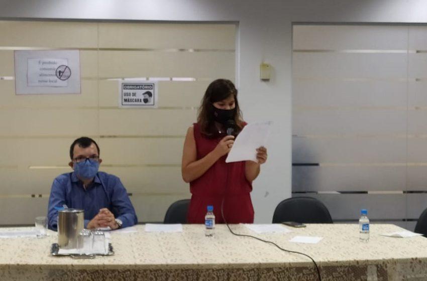 Empossados novos conselheiros e mesa diretora do Conselho Estadual de Saúde do Estado de Goiás