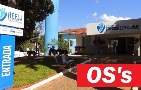 TERCEIRIZAÇÃO: nota sobre a devolução dos hospitais de Pirenópolis, Santa Helena e Jaraguá