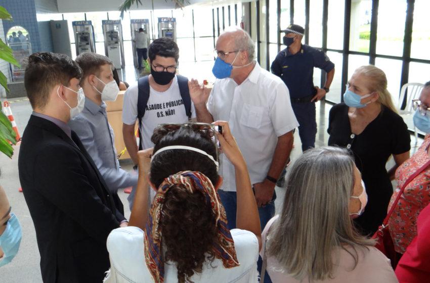 GOIÂNIA: Sindsaúde apresenta proposta de compensação da produtividade e vale-alimentação para agentes