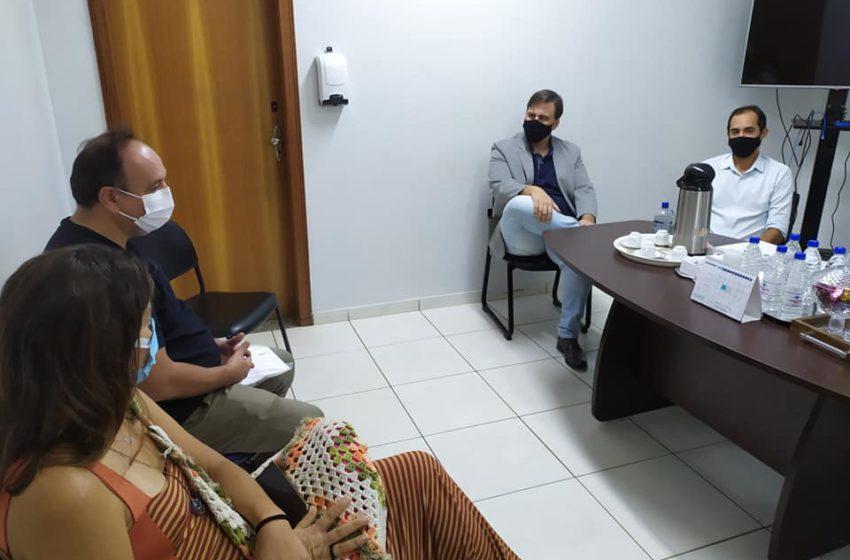 Sindsaúde se reúne com prefeitura de Senador Canedo para discutir pautas da saúde