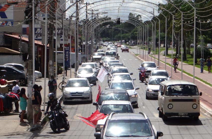 Após protesto, Prefeitura de Aparecida marca data para discutir reivindicações da saúde