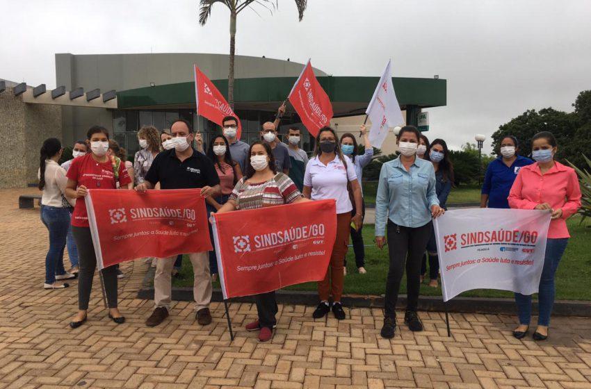 SENADOR CANEDO: após pressão do Sindsaúde, secretária de saúde agenda reunião para discutir pauta dos trabalhadores