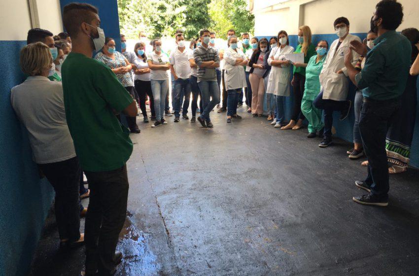 TERCEIRIZAÇÃO: apreensivos, trabalhadores dos hospitais estaduais de Pirenópolis e Jaraguá continuam sem salários