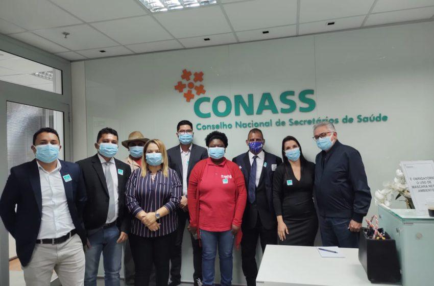 Em Brasília, Sindsaúde participa de reunião para discutir curso técnico dos ACE e ACS