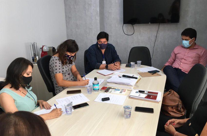 Sindsaúde participa de nova rodada de negociação com a gestão de Aparecida