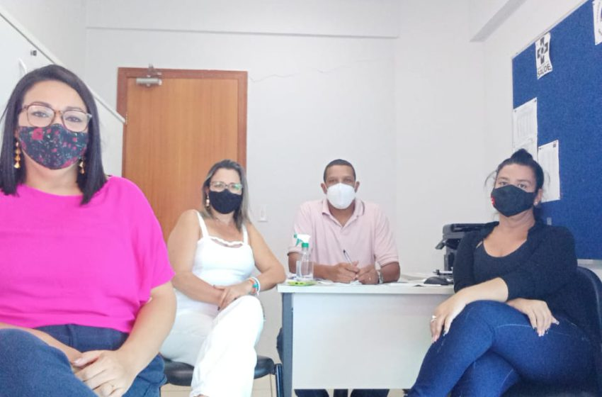 Em visitas às UBSs de Senador Canedo, Sindsaúde divulga Curso de Vigilância em Saúde dos Trabalhadores
