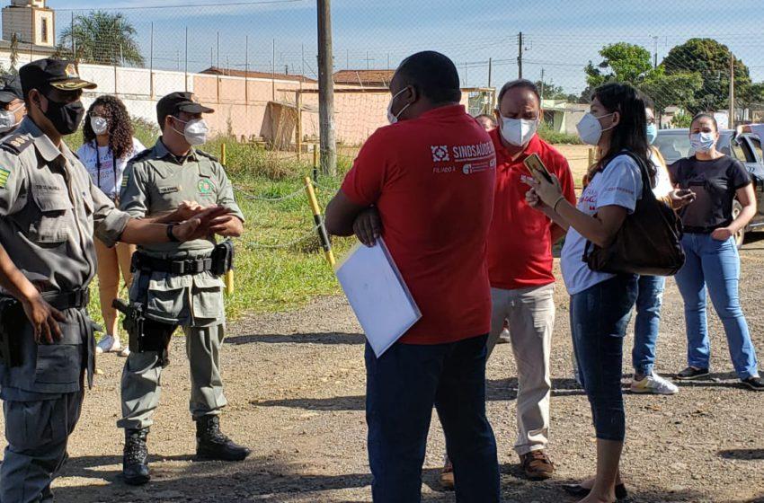 Com direitos trabalhistas ignorados, servidores da saúde têm mobilização proibida em Anápolis